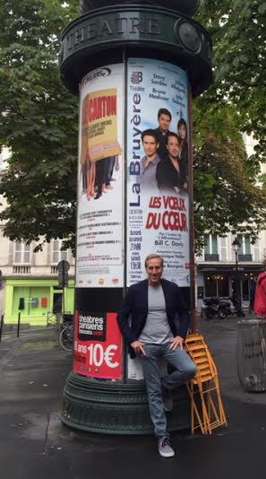 Advertisement for Avow in Paris